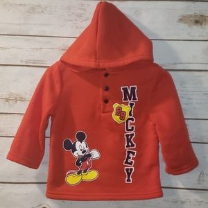 Disney light weight Mickey pullover size 12 Months